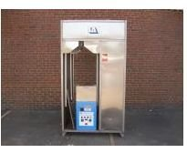 used laundry equipment:2005 NEW Leonard Steam Tunnel