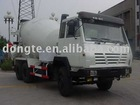 SX5255GJBUR384 Concrete mixer truck