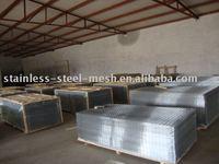 welded wire mesh panel/galvanized welded wire mesh panel/stainless steel wire mesh panel
