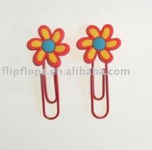 flower shape book clip