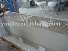 YL-G002 yellow granite countertop