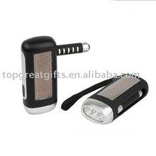 Dynamo and solar flashlight