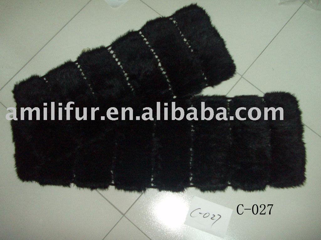 The Sunroom: Hand Warming Scarf Crochet