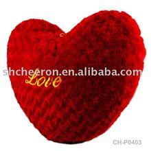 Plush heart pillow,stuffed heart pillow,valentine plush pillow
