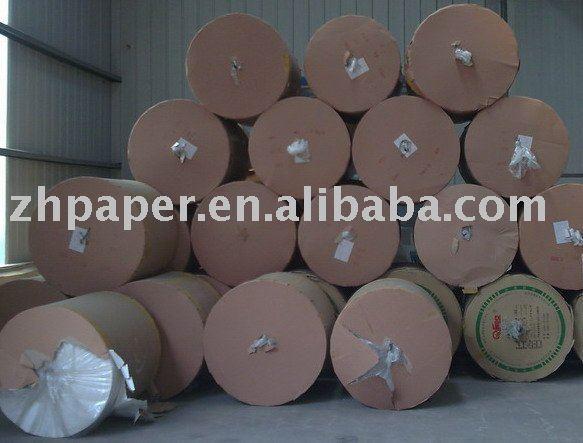 Papel de jornal papel em rolo e em folha