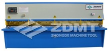 QC12Y Hydraulic Plate Shear