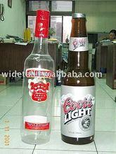 inflatable bottle / beer bottle / coors / coors light / smirnoff / advertising / advertising bottle