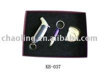cigar gift set of cigar lighter,punch-style cutter and cigar cutter