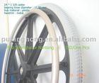 wheelchair caster wheel