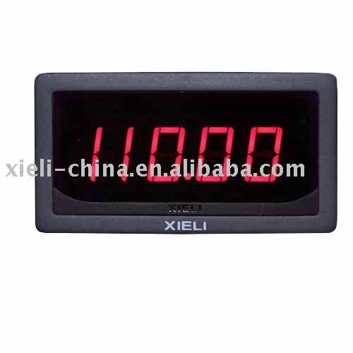 Digital Ammeter Panel Mount : Digital panel mount led ammeter voltmeter voltage meter