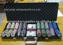 9g clay poker chip set