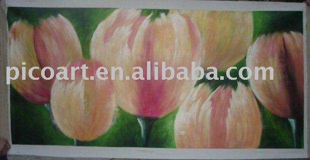 Peintures de fleurs, toile peinture à l'huile