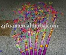 metallic confetti party popper/confetti shooter/confetti cannon