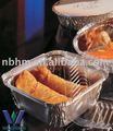 envases desechables de catering láminadealuminio contenedores