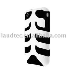 For iPhone 3G & 3GS Case - Rebel Capsule Skeleton
