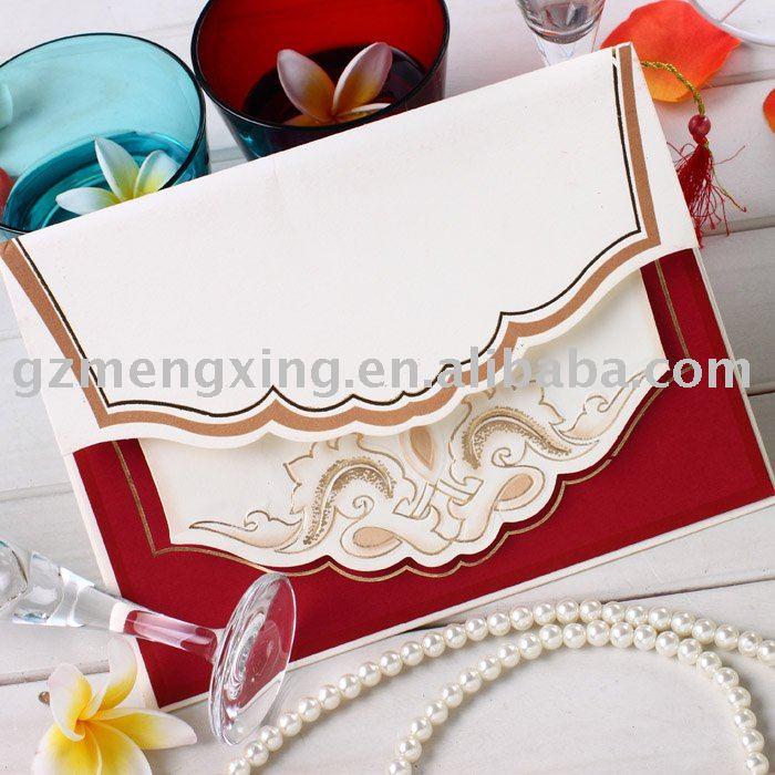 See larger image Hindu style Arabian style wedding invitation cardsHW026