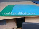 Corrugated fluted plastic sheet