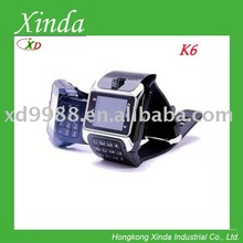 k6 triband watch mobile with camera and popular design