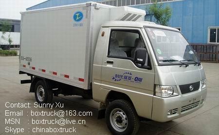 Mini fridge truck
