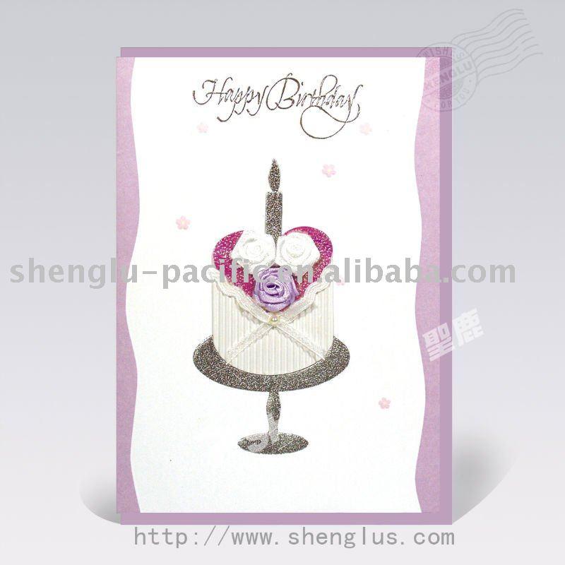 handmade birthday cards. Handmade birthday greeting