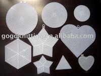 Abnormity cross stitch plastic canvas