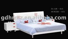 MDF bed in bedroom set furniture