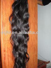 Natural brown color Remy Human Hair-Natural curly / Virgin Hair / Raw Hair / Brazilian Hair / Pigtail