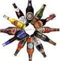 vender cerveza etiqueta de la botella