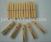 Wood pegs