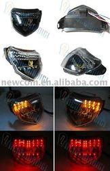 MOTO PARTS LED INDICATOR LIGHTING 3IN1 TAIL/BRAKE/SIGNAL LIGHT LAMP FITS SUZUKI 04-05 GSXR 600 750 GSX-R600 TL61