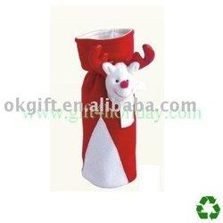 Wine bottle bag -- Christmas decoration bags