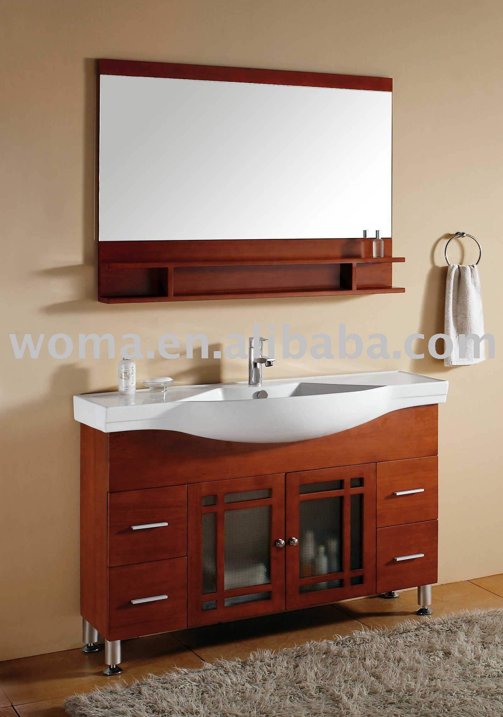 DIY BATHROOM SINK CABINET | EHOW.COM