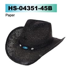 black straw hat cowboy hat