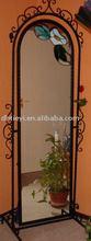 wrought iron mirrors, iron art mirrors, decorative iron mirrors