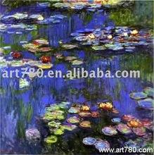 Painting artist (Monet oil painting)