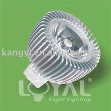 3W gu5.3 LED 2012 Super bright Spot Light with 3 years warranty