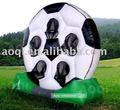 هدف قابل للنفخ لكرة القدم الألعاب الرياضية