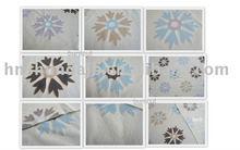 burnout fleece fabric