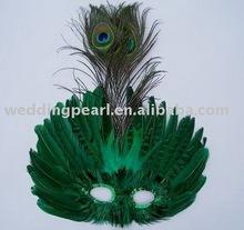 fashion holiday decorative feather mask FM043