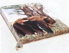 Acrylic Raschel blanket*mink blanket