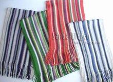acrylic striped shawl