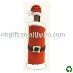 Wine bottle cover,bottle bag,Christmas decoration