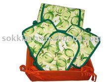 kitchen set/kitchen textile/apron set