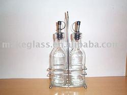 glass cruet,oil&vinegar bottle,glassware