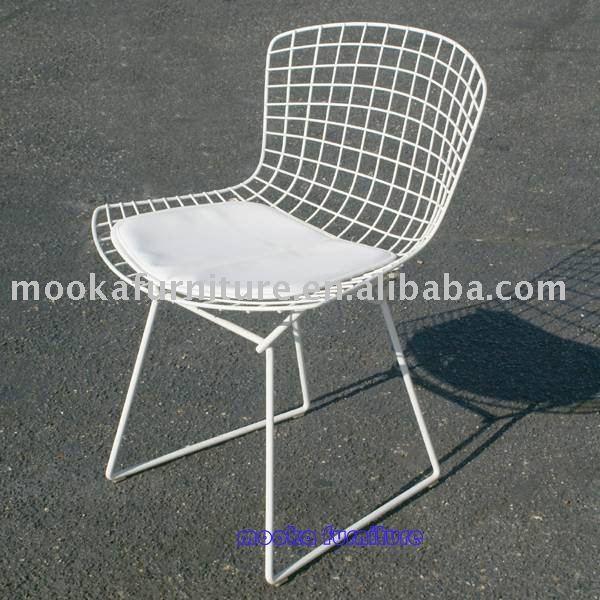 Harry bertoia chaise c t fil chaises en m tal id du for Bertoia chaise prix