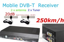DVB-T Receiver with MPEG-4,HE-AAC,H.264,2 antenna DVB-2009HD