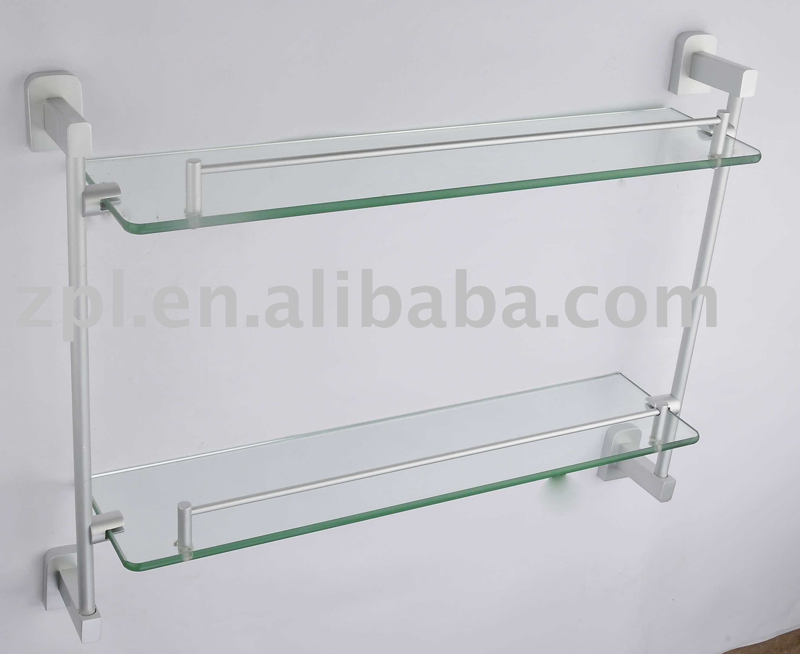 Prateleira de canto de vidro Prateleiras de banheiro ID do produto  #5F4C3B 2646 2166