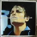 Michael Jackson art canvas with framed