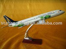 Avião de brinquedo, brinquedo avião, modelo de quadro, b737-800
