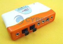 External USB 2.0 7.1 Audio Sound Card